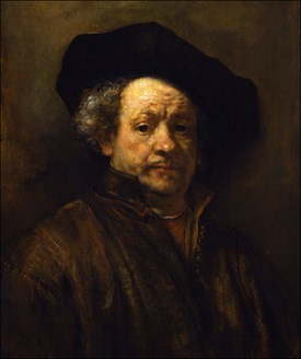 Rembrandt's 1660 self portrait