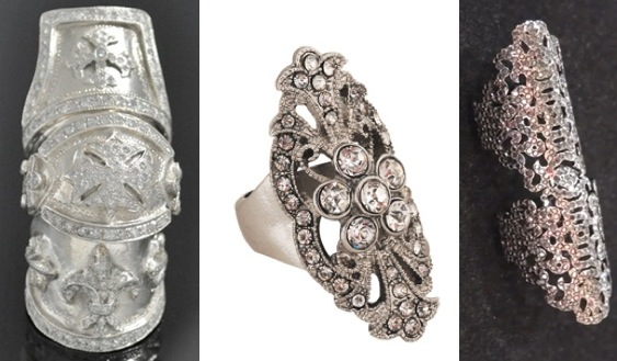 Loree Rodkin Gothic rings