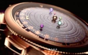 Van Cleef & Arpels' Planetarium watch.